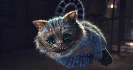 Знаменитый Чеширский кот