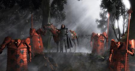 Воины королевы червей разыскивают Алису