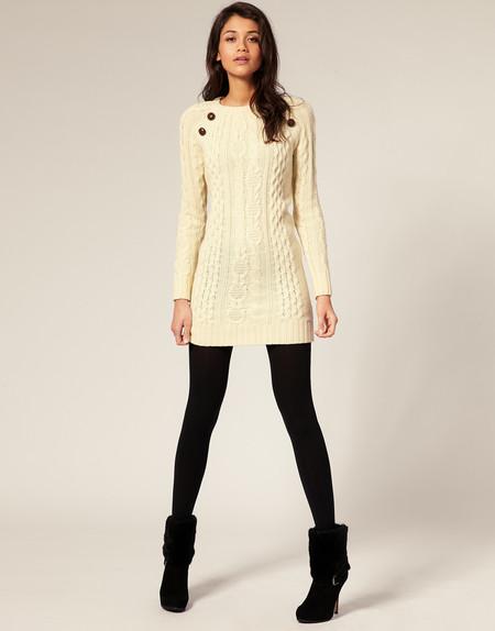 Теплые свитеры и платья зимы 2010-2011 — фото 3
