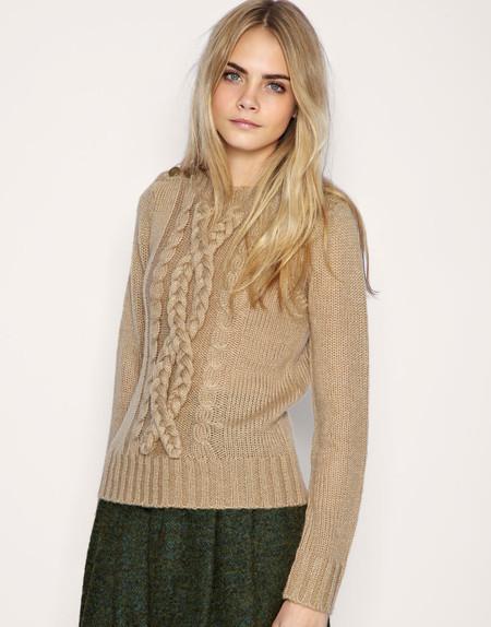 Вязаный свитер 15573