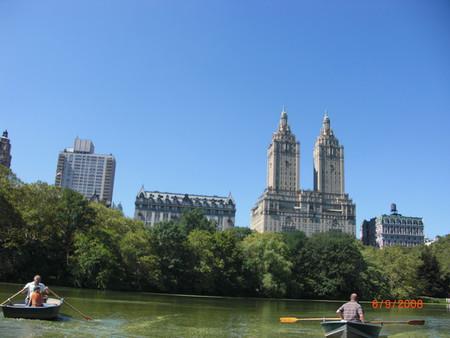 Центральный парк. Вид на Манхеттэн