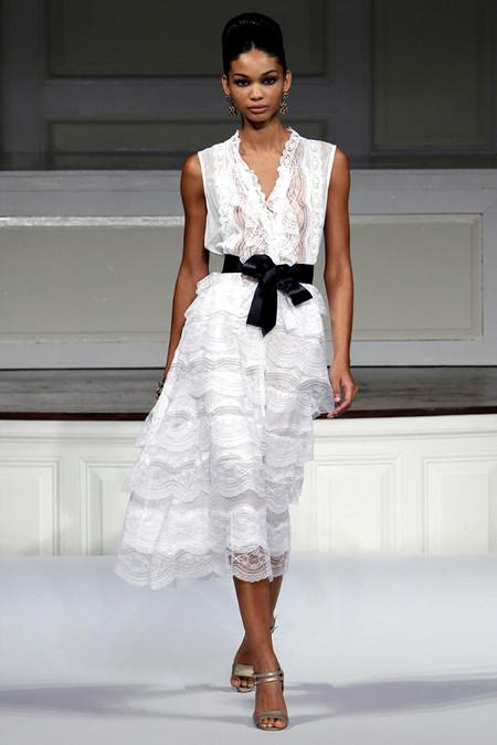 Модный показ Oscar de la Renta весна/ лето 2011