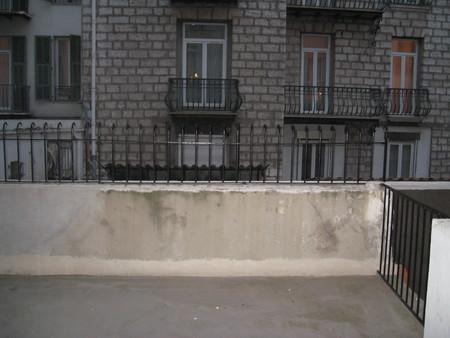 Наш балкон и вид на соседний корпус гостиницы