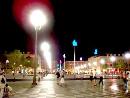 Ночная Ницца