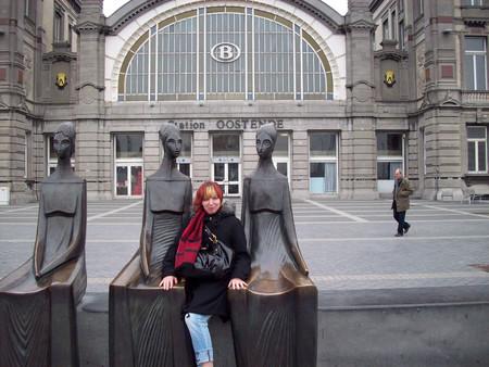Железнодорожный вокзал в Остенде