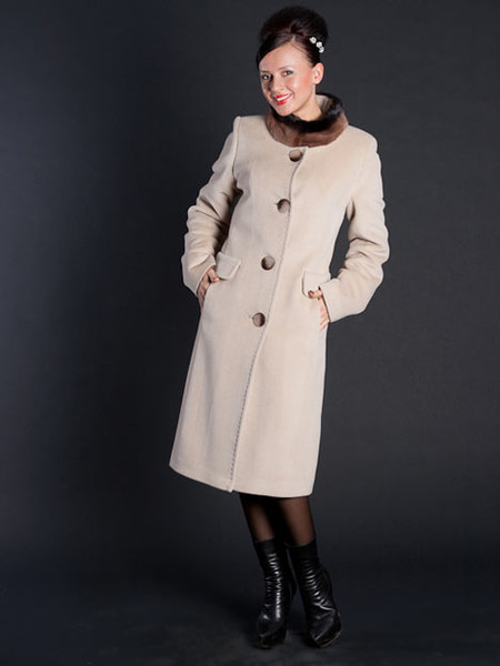 Пальто в стиле Коко Шанель — фото 1