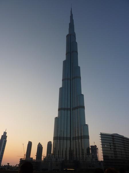 Бурж Халифа, та самая башня высотой 828 метров