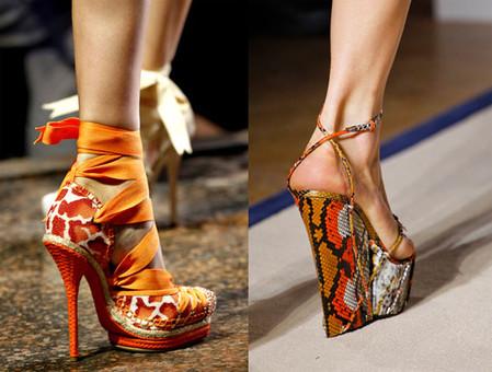 Модная обувь сезона весна-лето 2011 года — фото 1
