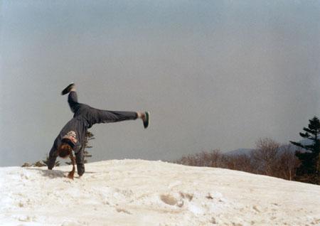 На снежной вершине Пидана получается даже то,<br /> чего не умеешь делать в обычной жизни