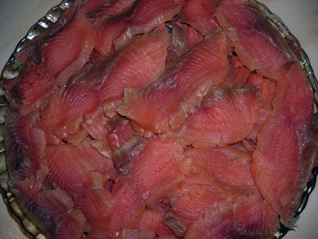 Пирог с красной рыбой «Пальчики оближешь!» — фото 2