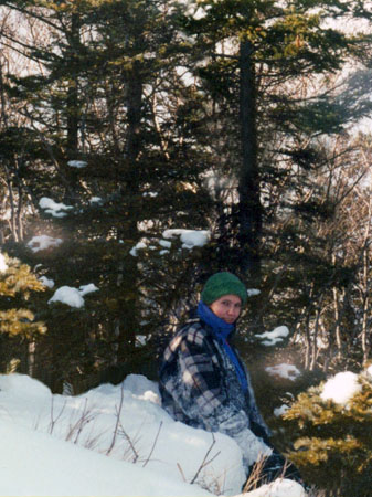 Подъем по снегу – совсем другие ощущения!