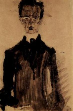 Э.Шиле. Автопортрет