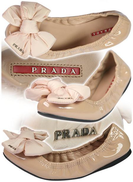 Модные и удобные балетки от PRADA. — фото 1