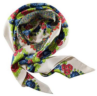 Платки и шарфы - снова в моду! — фото 1