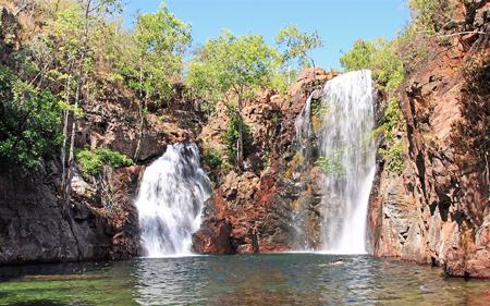 Тасманийские водопады.