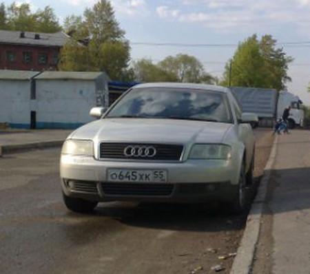 Приключения немки в России. Ауди А6 — фото 1