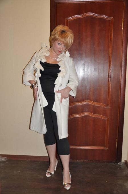 Это я собственной персоной в пальто от Унгаро