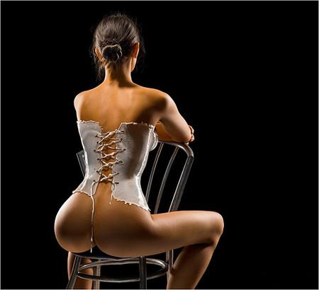Одежда из молока на фотомоделях Андрея Разумовского — фото 1