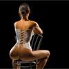 Одежда из молока на фотомоделях Андрея Разумовского