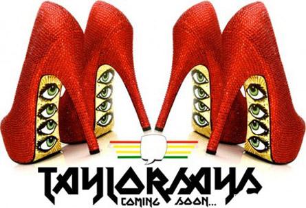 Туфли от Тейлор Рив с рисунком-глазами