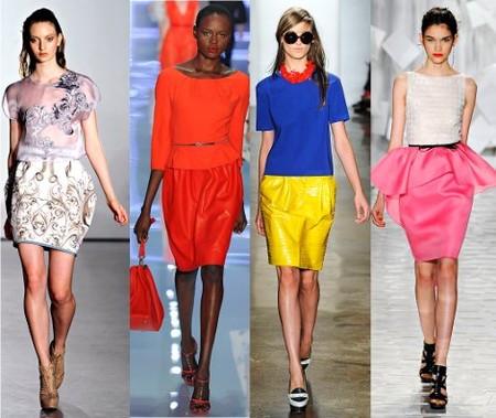 Модные юбки 2012 года — фото 3