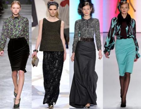 Модные юбки 2012 года — фото 2