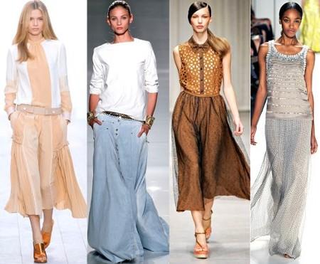 Модные юбки 2012 года — фото 5