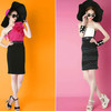 Модные юбки 2012 года