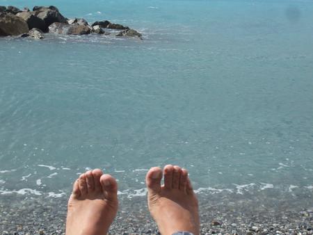 пляж городка Вентимилья