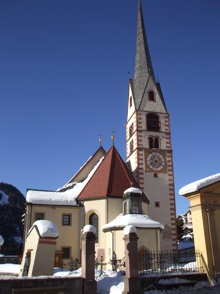 церквушка в Санта Кристине