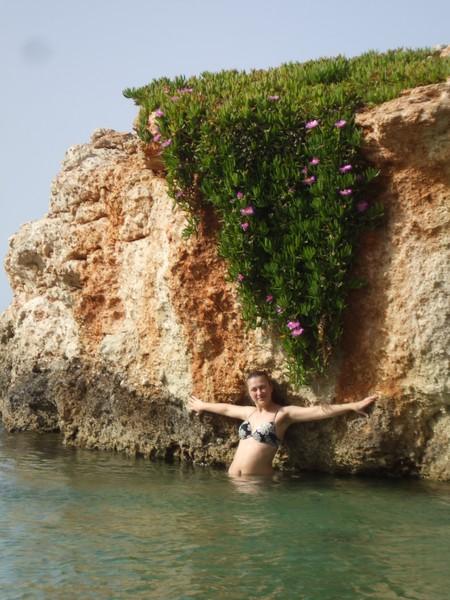 самые смелые пошли купаться :)