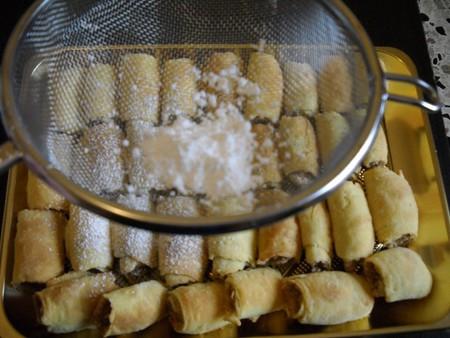 Печенье из слоеного теста — фото 15