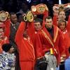 Бой за звание чемпиона по версиям IBF, WBO, IBО и WBA завершился победой украинца Владимира Кличка
