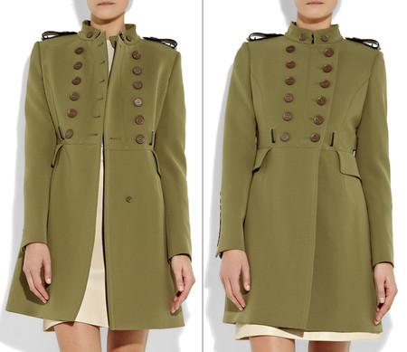 Пальто в стиле милитари от Burberry Prorsum — фото 3