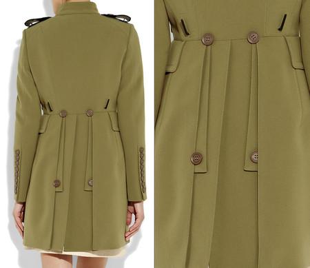 Пальто в стиле милитари от Burberry Prorsum — фото 4