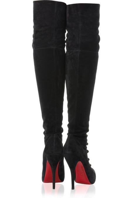 Шикарные ботфорты от Christian Louboutin. — фото 3