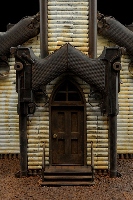 Скульптуры из оружия созданные Алом Фэрроу. — фото 3