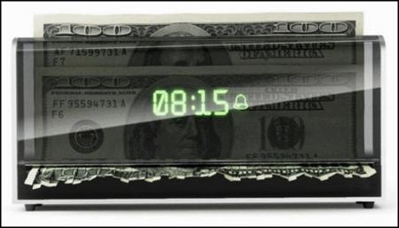 Будильник, питающийся деньгами. — фото 2