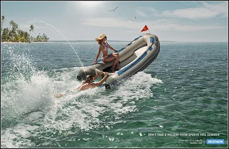 Множество креатива и юмора в спортивной рекламе. — фото 3