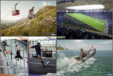 Множество креатива и юмора в спортивной рекламе. — фото 1