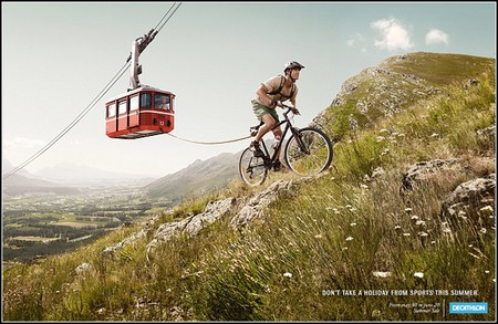 Множество креатива и юмора в спортивной рекламе. — фото 4