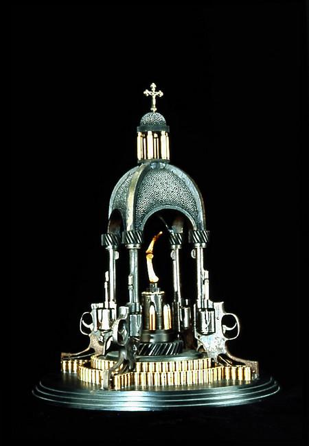 Скульптуры из оружия созданные Алом Фэрроу. — фото 5