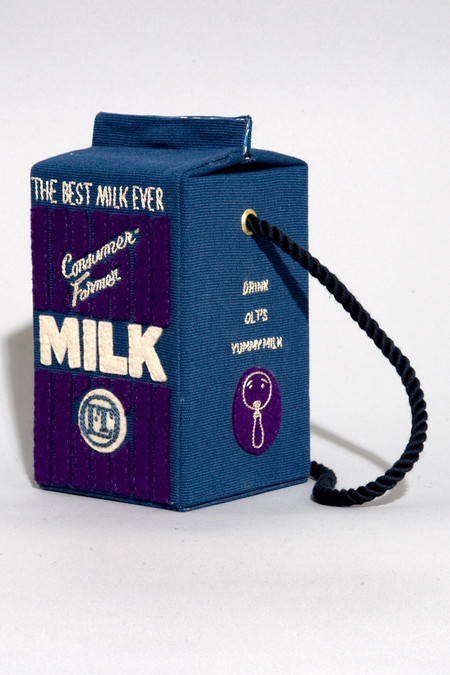 Креативные сумочки от Olympia Le-Tan. — фото 6