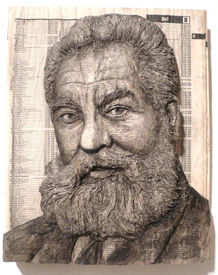 Портреты из телефонных справочников. — фото 1