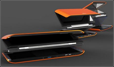 Складной карманный ноутбук Lifebook X2. — фото 1