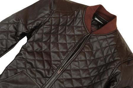 Кожаный жакет Браун от Gucci. — фото 6