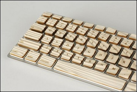 Engrain Tactile Keyboard – клавиатура из дерева «с осязанием». — фото 2
