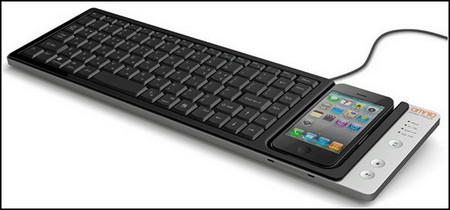 iPhone, знай свое место! Клавиатура Wow-Keys. — фото 1