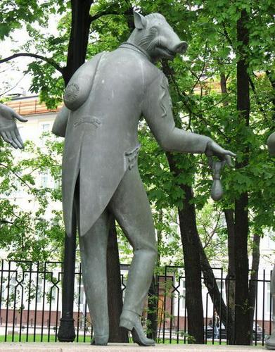 Памятник на Болотной в Москве. Чтобы уберечь детей от пороков взрослых — фото 7