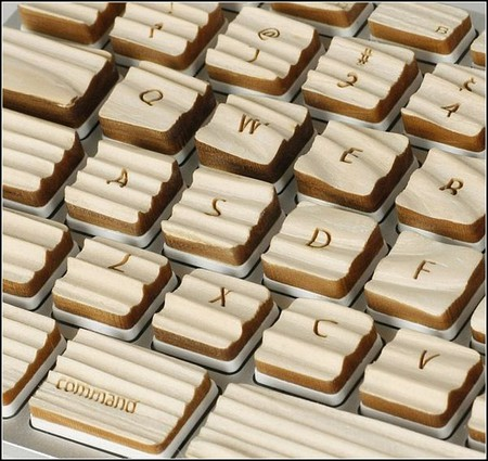 Engrain Tactile Keyboard – клавиатура из дерева «с осязанием». — фото 3